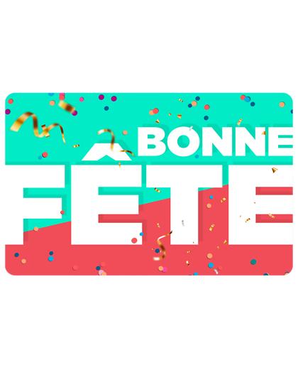 Wonderbox Coffret cadeau - Carte BONNE FÊTE - Beauté & bien-être