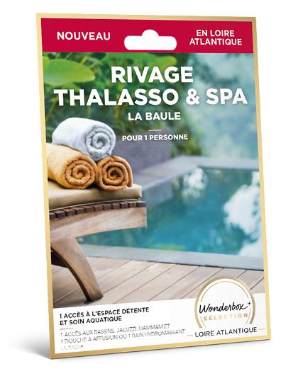 Wonderbox Coffret cadeau - Rivage Thalasso & Spa - La Baule - Beauté & bien-être