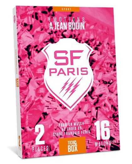 Wonderbox Coffret cadeau - Stade Français Paris - Loisirs & sorties