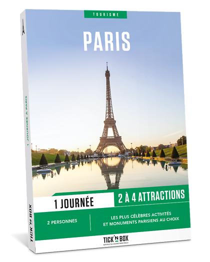 Wonderbox Coffret cadeau - 1 jour à Paris - Sport & Aventure