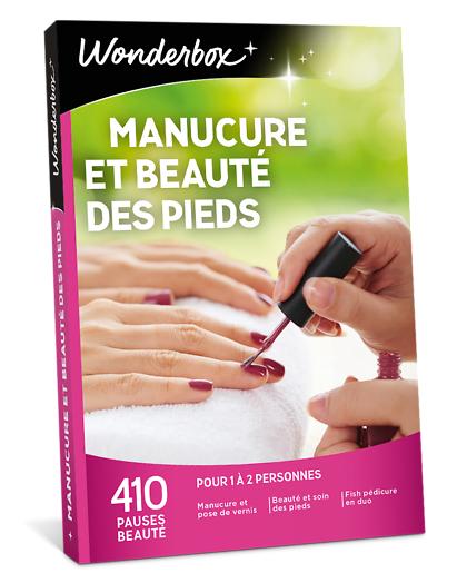 Wonderbox Coffret cadeau - Manucure et Beauté des pieds - Beauté & bien-être