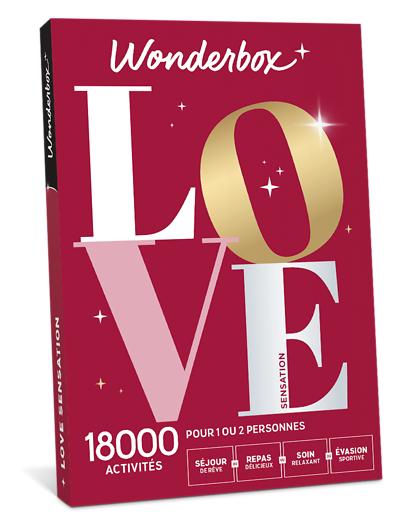 Wonderbox Coffret cadeau - LOVE Sensation - Beauté & bien-être