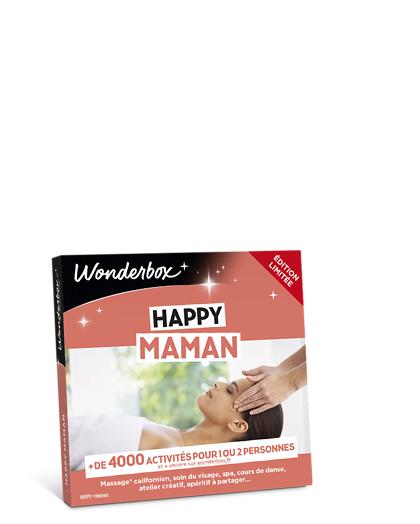 Wonderbox Coffret cadeau - Happy Maman - Restaurant & Gastronomie