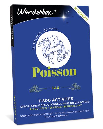 Wonderbox Coffret cadeau - Astrologie - Poisson - Beauté & bien-être