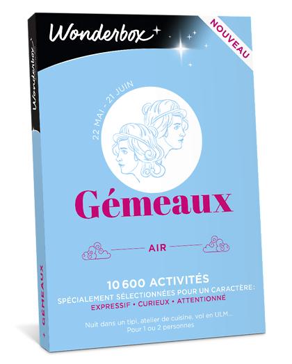 Wonderbox Coffret cadeau - Astrologie - Gémeaux - Beauté & bien-être