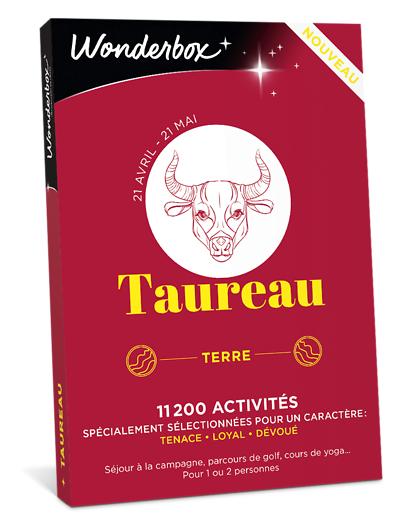 Wonderbox Coffret cadeau - Astrologie - Taureau - Beauté & bien-être