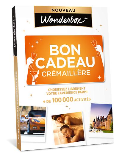 Wonderbox Coffret cadeau - Bon cadeau Crémaillère - Beauté & bien-être