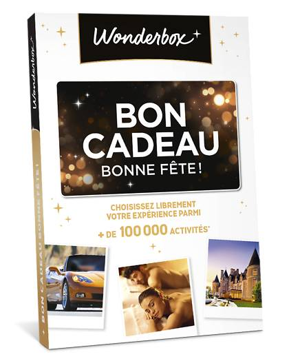 Wonderbox Coffret cadeau - Bon Cadeau Bonne fête ! - Beauté & bien-être
