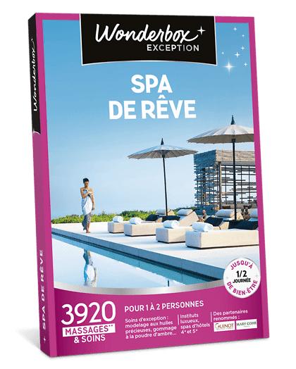 Wonderbox Coffret cadeau - Spa de Rêve - Beauté & bien-être