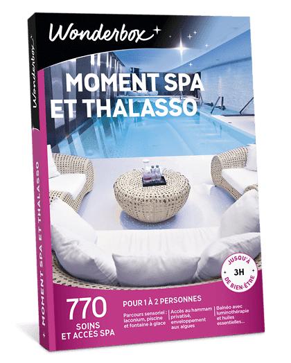 Wonderbox Coffret cadeau - Moment Spa et Thalasso - Beauté & bien-être