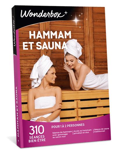 Wonderbox Coffret cadeau - Hammam et Sauna - Beauté & bien-être