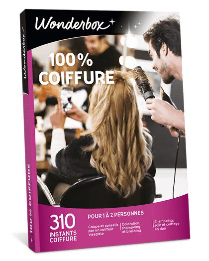 Wonderbox Coffret cadeau - 100% Coiffure - Beauté & bien-être
