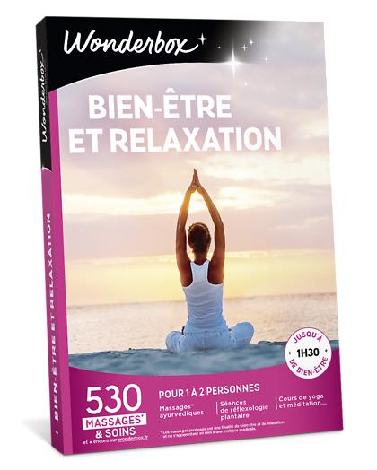 Wonderbox Coffret cadeau - Bien-Être et Relaxation - Beauté & bien-être