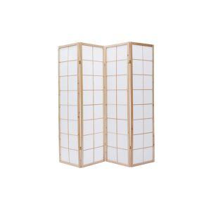 Miliboo Paravent japonais en bois et papier IKUYO - Publicité
