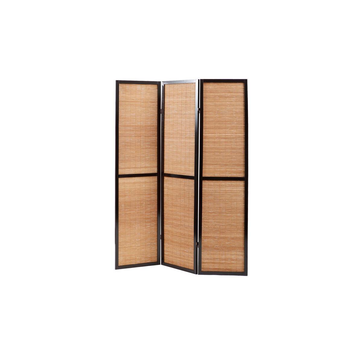 Miliboo Paravent bambou et bois style asiatique Suwa