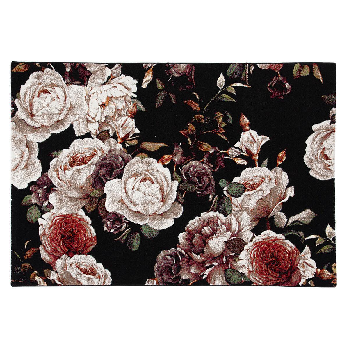 Miliboo Tapis design motif roses 160 x 230 cm GALICA