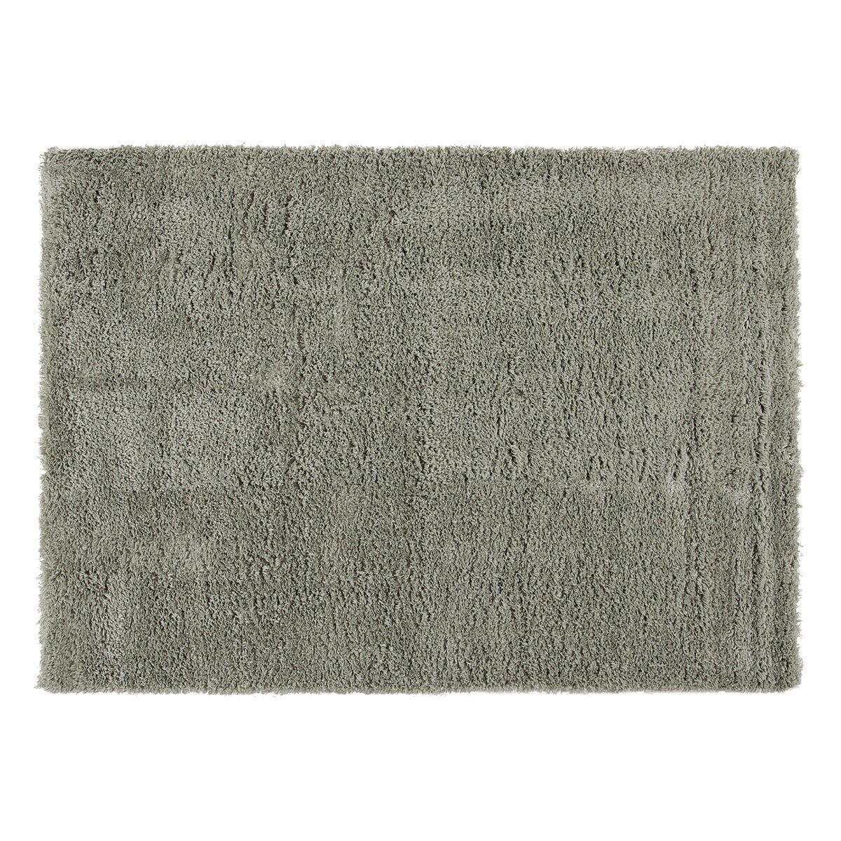 Miliboo Tapis vert de gris 160x230 cm PLUMA