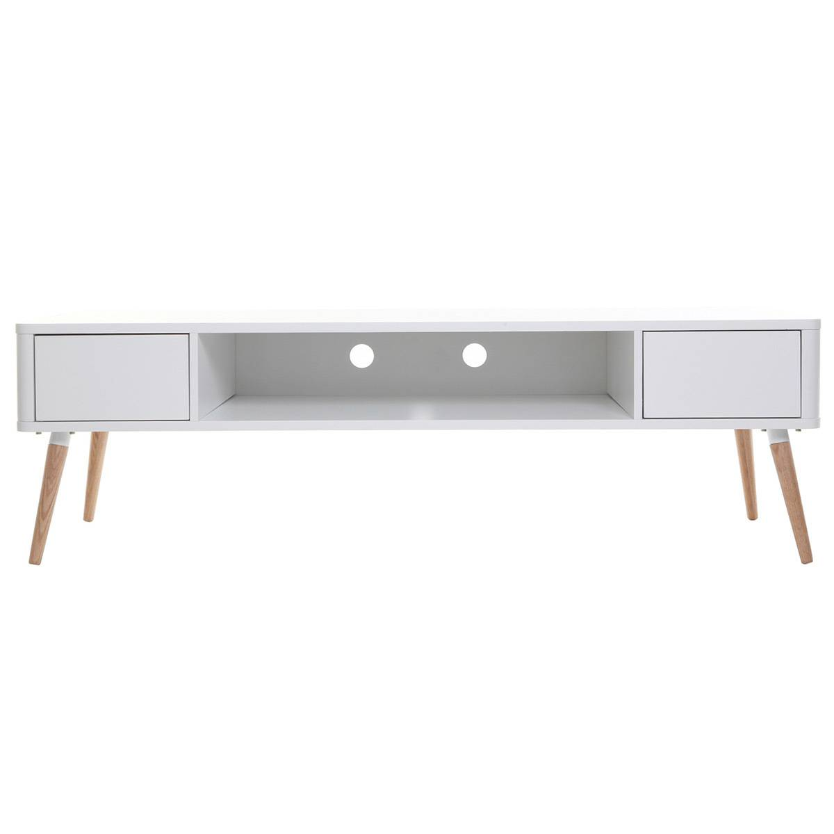 Miliboo Meuble TV design scandinave TOTEM