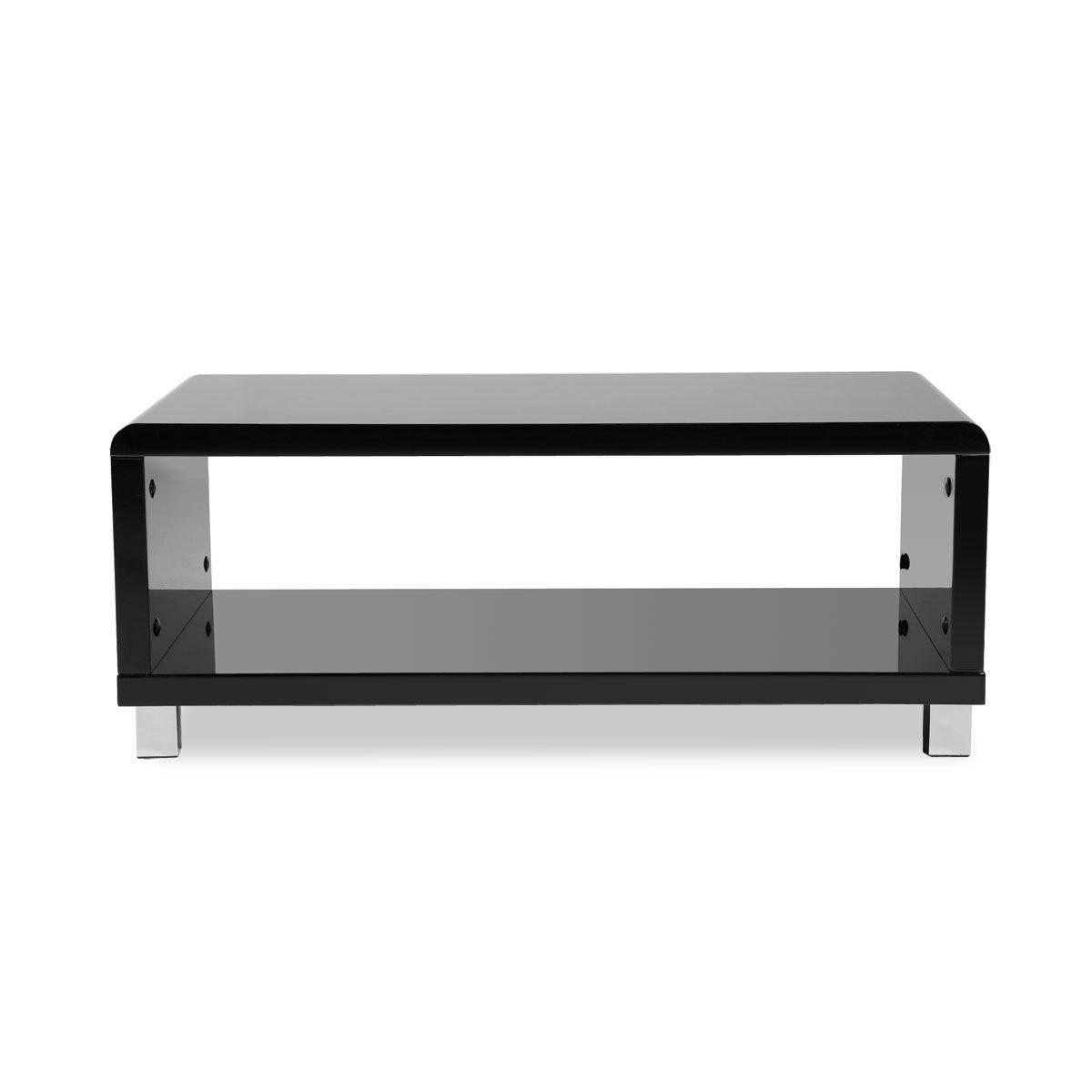 Miliboo Table basse design laquée noire ROXY