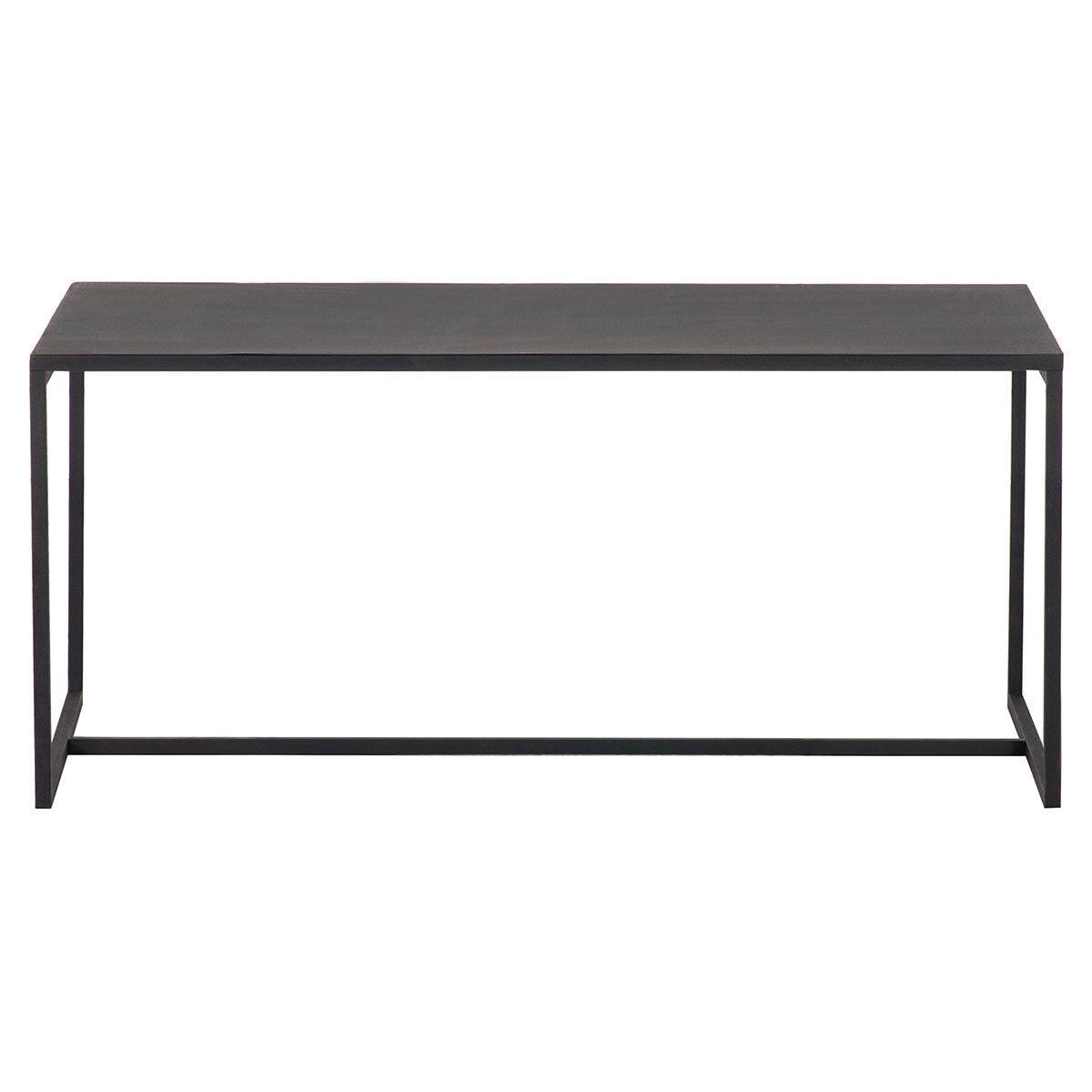 Miliboo Table basse industrielle métal noir KARL