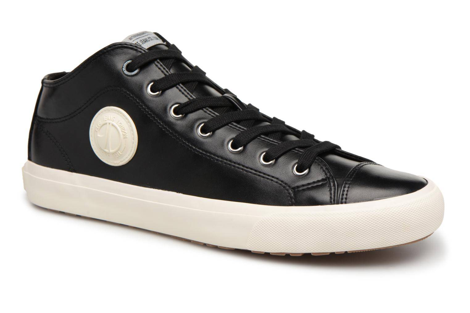 Pepe jeans INDUSTRY PRO-BASIC - Baskets Homme, Noir