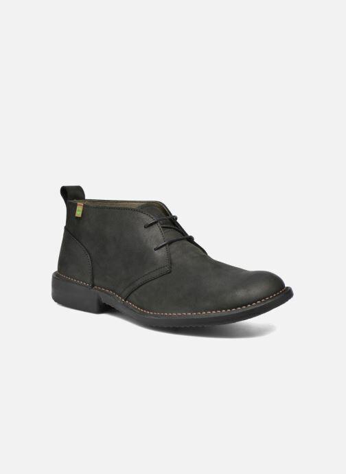 El Naturalista Yugen NG21 - Chaussures à lacets Homme, Noir