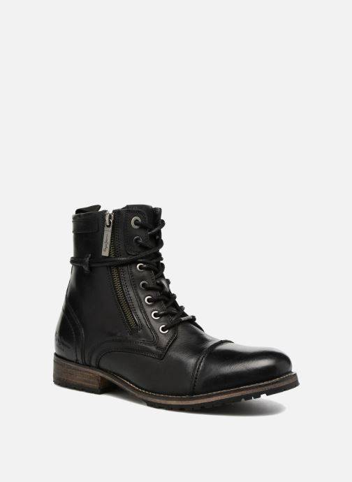 Pepe jeans MELTING ZIPPER NEW - Bottines et boots Homme, Noir
