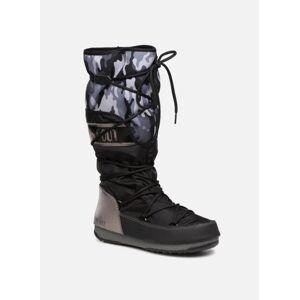 Moon Boot anversa camu - Chaussures de sport Femme, Noir - Publicité