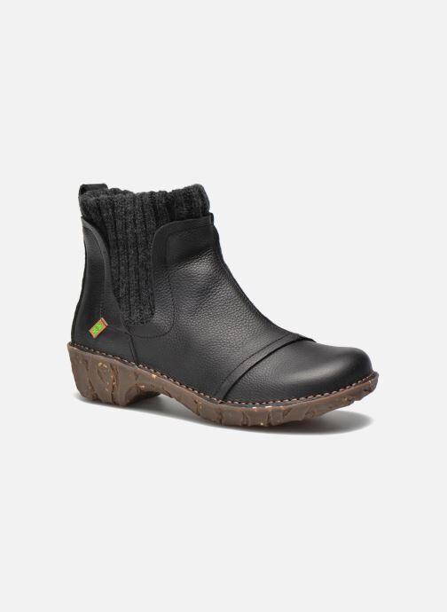 El Naturalista Yggdrasil NE23 - Bottines et boots Femme, Noir