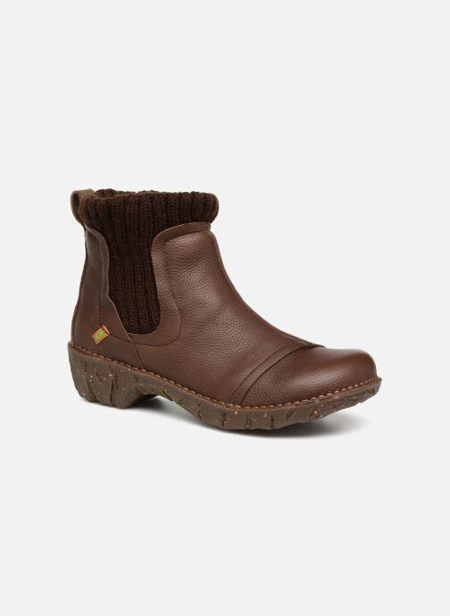 El Naturalista Yggdrasil NE23 - Bottines et boots Femme, Marron