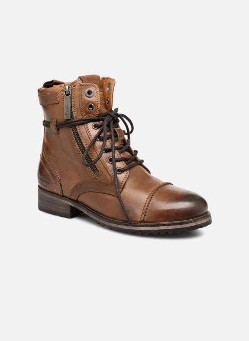 Pepe jeans Melting W. Zipper - Bottines et boots Femme, Marron