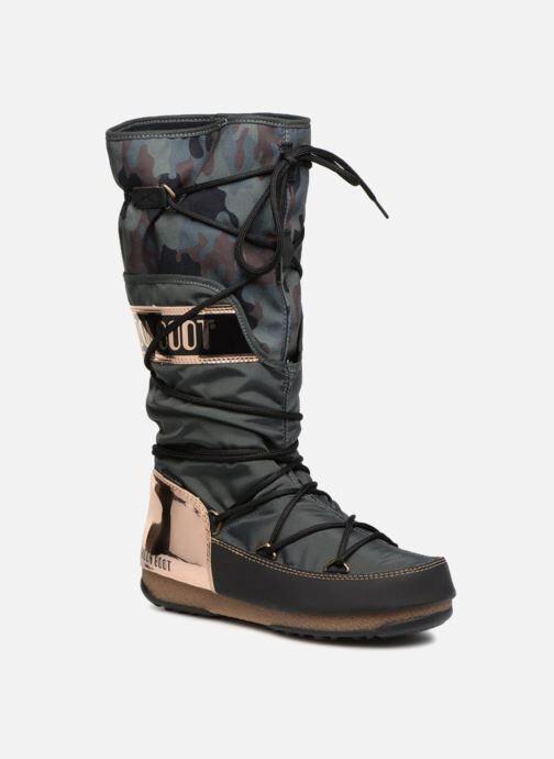 Moon Boot anversa camu - Chaussures de sport Femme, Vert