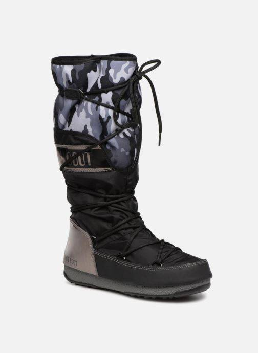 Moon Boot anversa camu - Chaussures de sport Femme, Noir