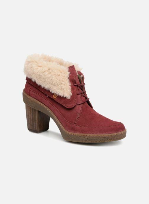 El Naturalista Lichen N5172 - Bottines et boots Femme, Rouge