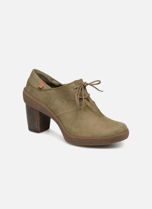 El Naturalista Lichen NF70 - Chaussures à lacets Femme, Vert