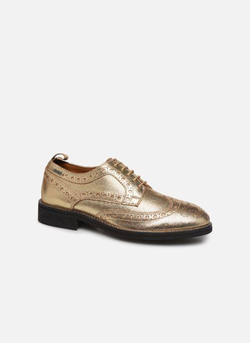 Pepe jeans Hackney Met - Chaussures à lacets Femme, Or et bronze