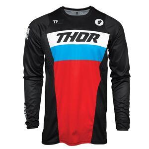 Thor Maillot cross Thor PULSE - RACER - BLACK RED BLUE 2021 Black Red Blue - Publicité