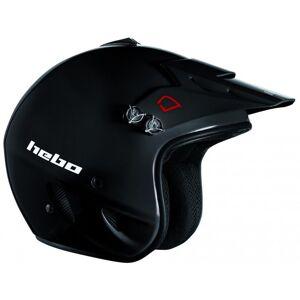 Hebo Casque trial Hebo ZONE BLACK 2021 Noir - Publicité