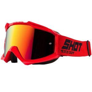 Shot Masque cross Shot IRIS - RED 2021 Red - Publicité