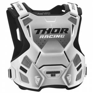 Thor Plastron Thor GUARDIAN MX WHITE BLACK 2022 Blanc/Noir - Publicité