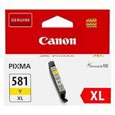 Canon Cartouche canon cli581 haute capacité jaune pour imprimante jet d'encre