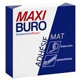 Maxiburo Ruban adhésif invisible mat - longueur 33 m - maxiburo