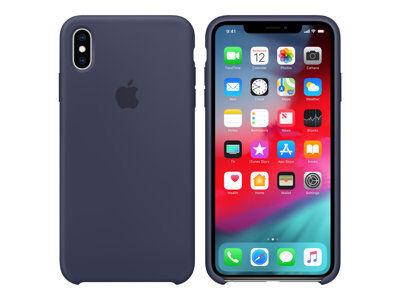 Apple - coque de protection pour téléphone portable - silicone - bleu nuit - ...