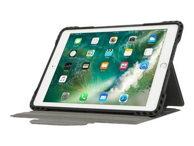 Targus pro-tek rotating - protection à rabat pour tablette - robuste - polyur...