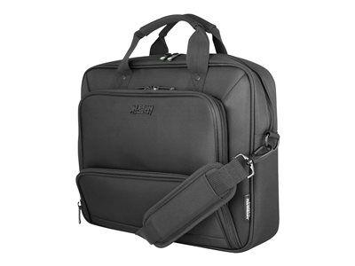 "Urban factory mixee toploading laptop bag 14.1"" black - sacoche pour ordinate..."