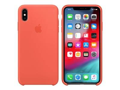 Apple - coque de protection pour téléphone portable - silicone - nectarine - ...