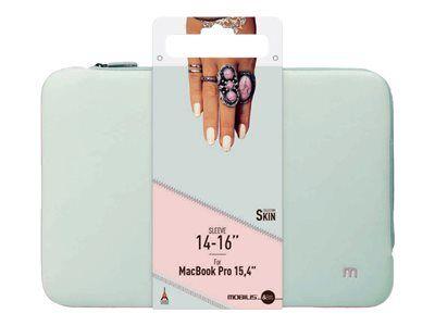 """Mobilis skin - housse d'ordinateur portable - 14"""" - 16"""" - gris perle, rose po..."""