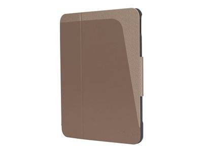Targus click-in - protection à rabat pour tablette - rose gold - pour apple 1...