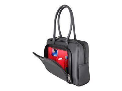 """Urban factory ladee laptop bag 13/14"""" black - sac à bandoulière pour ordinate..."""