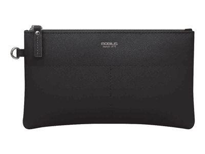 Mobilis origine pouch - étui pour téléphone portable - imitation cuir - noir